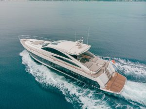 Princess V70 for rent in Marbella